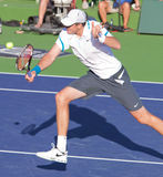 John ISNER at the 2009 BNP Paribas Open Stock Image