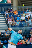 John Isner-spelen in Winston-Salem Open Stock Fotografie