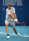 John Isner of USA at the 2010 China Open Royalty Free Stock Photos