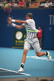 John Isner of USA in action Royalty Free Stock Photography