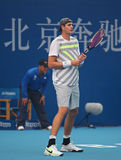 John Isner of USA, professional tennis player stock image