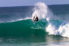 John John Florence Surfing Action Stock Photos