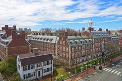 Free John Kennedy Street And Eliot House Belltower In Harvard Univers Stock Photos - 72322533