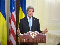 John Kerry Fotografie Stock Libere da Diritti