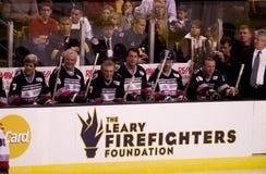 John Kerry and Hockey Legends Royalty Free Stock Image