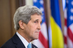 John Kerry Royalty Free Stock Photo