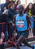 John Kisang, Mitja Marató Granollers Images libres de droits