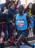 John Kisang Mitja Marató Granollers Royaltyfria Bilder