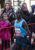 John Kisang, Mitja Marató Granollers Photographie stock