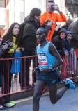 John Kisang Mitja Marató Granollers Royaltyfri Foto