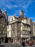 John Knox House, Edinburgh. The John Knox House in the Cannongate area of the Royal Mile in Edinburgh, Scotland Royalty Free Stock Photo