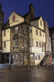 John Knox House in Edinburgh. A view of the historic John Knox House in Edinburgh, Scotland Stock Images