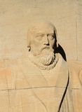 John Knox, reformation wall, Geneva, Switzerland. Stock Images