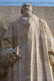 John Knox, reformation wall, Geneva, Switzerland. Royalty Free Stock Photography