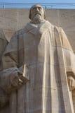 John Knox, Verbesserungswand, Genf, die Schweiz. Lizenzfreie Stockfotografie