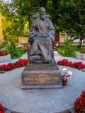 John of Kronstadt statue Stock Images