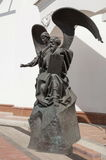 John l'evangelista e l'angelo Fotografia Stock Libera da Diritti