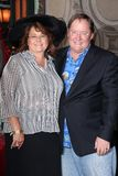 John Lasseter. And wife  at 's Star on the Hollywood Walk of Fame, Hollywood, CA 11-1-11 Royalty Free Stock Photos