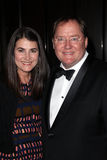 John Lasseter, Denise Ream Royalty Free Stock Photos
