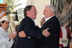 John Lasseter, John Ratzenberger. At John Lasseter's Star on the Hollywood Walk of Fame, Hollywood, CA 11-1-11 Royalty Free Stock Image