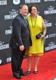 John Lasseter & Nancy Lasseter Royalty Free Stock Photography