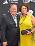 John Lasseter & Nancy Lasseter Royalty Free Stock Image