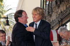 John Lasseter, Owen Wilson Royalty Free Stock Photography