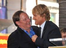 John Lasseter, Owen Wilson Stock Photo