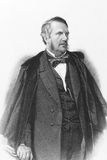 John Lawrence, 1st Baron Lawrence. (1811-1879) on engraving from the 1800s. Irishman who became a prominent British pro-consul and imperial statesman who served Royalty Free Stock Photos