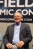 John Leeson przy Sheffield filmem 2014 Komicznym przeciwem i Zdjęcie Stock