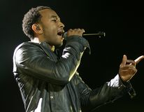 John Legend Performs in Concert. At the Seminole Hard Rock Hotel and Casino in Hollywood, Florida on July 9, 2009 stock photos