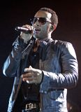 John Legend Performs in Concert. At the Seminole Hard Rock Hotel and Casino in Hollywood, Florida on July 9, 2009 stock image