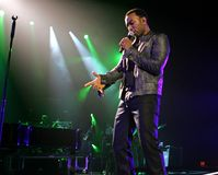 John Legend Performs in Concert. At the Seminole Hard Rock Hotel and Casino in Hollywood, Florida on July 9, 2009 royalty free stock image