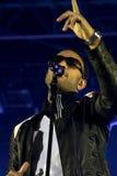 John Legend sous tension Photos libres de droits