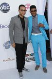 John Legend, Usher at the 2012 Billboard Music Awards Arrivals, MGM Grand, Las Vegas, NV 05-20-12 Royalty Free Stock Photos