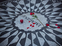 John Lennon Imagine Mosaic Photo stock
