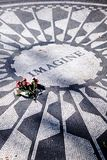 John Lennon memorial day, New York Royalty Free Stock Images