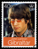 John Lennon Postage Stamp foto de stock royalty free