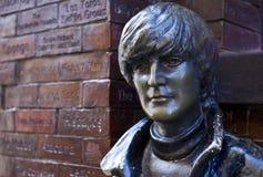 John Lennon Statue i Liverpool Royaltyfri Fotografi