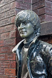 John Lennon statue in Mathew Street, Liverpool, UK Stock Photo
