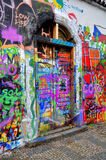 John Lennon Wall Stock Afbeelding