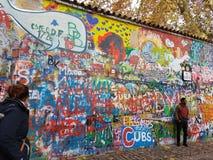 John Lennon Wall Στοκ Εικόνες