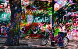 John Lennon Wall Prague foto de archivo libre de regalías
