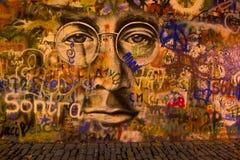 John Lennon Wall Stock Images