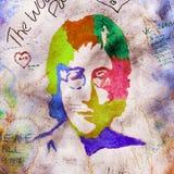 John Lennon Wall Royalty Free Stock Photo