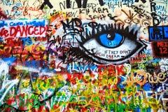John Lennon Wall, Prague, Czech Republic Stock Photography