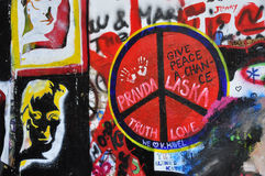 John Lennon Wall Stock Photos