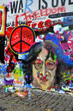 John Lennon Wall Royalty Free Stock Images