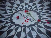 John Lennon Wyobraża sobie mozaikę Zdjęcie Stock