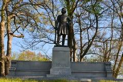 John A. Logan Memorial Arkivbild